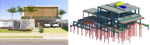 Projetos de instalações elétricas e hidrossanitárias